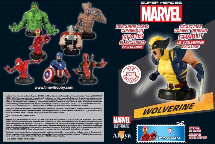Promoción Bustos Marvel