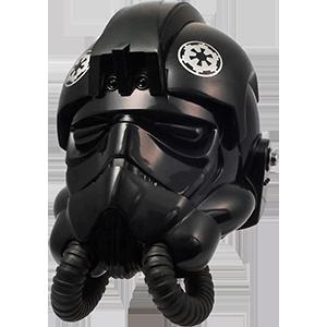 Casco de colección - Piloto de caza Tie - Star Wars