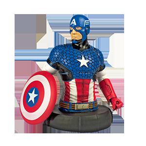 Capitán América - Bustos de colección Marvel