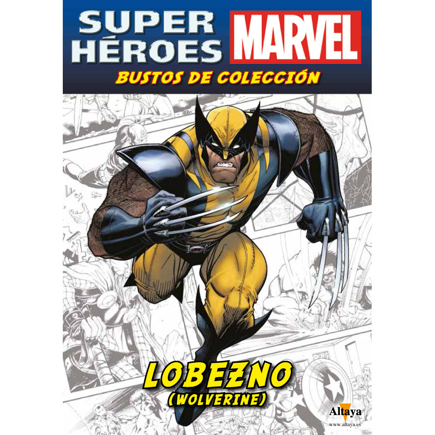 Busto marvel lobezno time4hobby for Coleccion bustos marvel